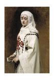 The Actress María Guerrero as `Doña Inés, 1891 Giclee Print by Raimundo De madrazo