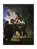 El Paso De Un Control, 1859 Giclee Print by Valeriano Dominguez Becquer