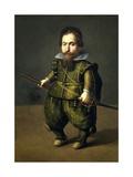 Portrait of a Dwarf, Ca. 1626 Giclee Print by Juan Van Der Hamen