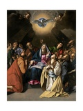 Pentecost, 1615-1620 Giclee Print by Juan Bautista Mayno