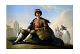El Muchacho De La Esportilla, Ca. 1786 Giclee Print by Ramon Bayeu