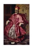 Cardinal Fernando Nino De Guevara, Ca.1601 Lámina giclée por  El Greco