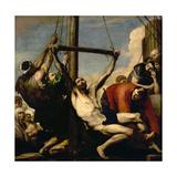 The Martyrdom of Saint Philip, 1639 Giclée-tryk af Jusepe de Ribera
