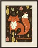 Fox in the Woods Prints by Tracy Walker
