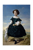 Portrait of a Girl, 1852 Giclee Print by Valeriano Dominguez Becquer