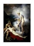Venus Healing Eneas Giclee Print by Merry-Joseph Blondel
