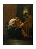 The Holy Family Giclee Print by Nicolas Poussin