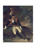The Wounded Cuirassier Giclee Print by Théodore Géricault