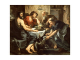 Jupiter and Mercury with Philemon and Baucis, 1620-1625 Giclee Print by Peter Paul Rubens