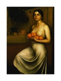 Oranges and Lemons, 1927 Giclee Print by Julio Romero de Torres
