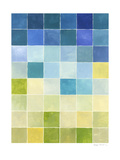 Pixilated Landscape I Giclee Print by Megan Meagher
