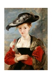 Portrait of Susanne Fourment, 1622-1625 Giclee Print by Peter Paul Rubens