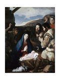 Adoration of the Sheperds, 1650 Giclee Print by Jusepe de Ribera