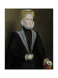 The Queen Anne of Austria, 1573 Giclee Print by Sofonisba Anguissola