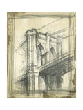 Pont de Brooklyn, New York Affiches par Ethan Harper