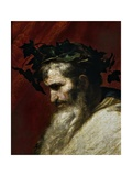 Head of Bacchus, Ca. 1635 Giclee Print by Jusepe de Ribera