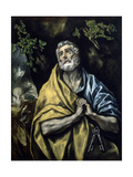 The Tears of St Peter, 1585-15990 Giclee Print by El Greco