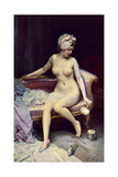 After the Bath, 1878 Giclee Print by Raimundo Madrazo