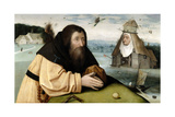 The Temptations of Saint Anthony Abbot, 1500-1510 Giclee Print by  El Bosco