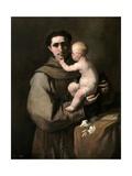Saint Anthony of Padua Giclee Print by Luca Giordano