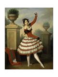 Josefa Vargas, 1840 Giclee Print by Antonio Maria Esquivel