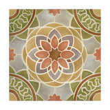 Villa Tile I Posters by Chariklia Zarris