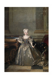 Portrait of Mariana Victoria of Spain , 1724 Giclee Print by Nicolas de Largilliere