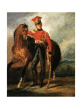 Red Lancer of the Imperal Guard Giclee Print by Théodore Géricault