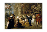 The Garden of Love, 1633-1634 Giclee Print by Peter Paul Rubens
