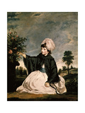 Lady Caroline Howard, 1778 Giclee Print by Sir Joshua Reynolds