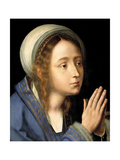 The Virgin Mary, 1529 Giclee Print by Quentin Matsys