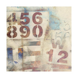 Numbered I Prints by Jennifer Goldberger