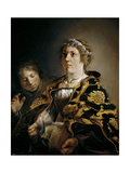 Judith with the Head of Holofernes, 1636 Giclee Print by Salomon de Bray