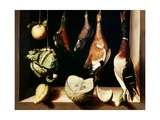 Still-Life with Game Fowl, 1600-1603 Giclee Print by Juan Sanchez Cotan