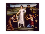 Our Lady of Andalucia, 1907 Giclee Print by Julio Romero de Torres