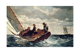Breezing Up (A Fair Wind), 1876 Giclee Print by Winslow Homer