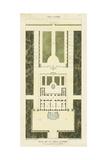 Plan de la Villa Altieri Kunstdrucke von  Bonnard