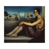 Conchita Torres, 1919-1920 Giclee Print by Julio Romero de Torres