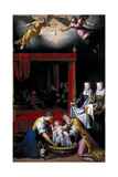 The Birth of the Virgin, 1603 Giclee Print by Juan Pantoja De La Cruz