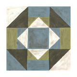 Patchwork Tile III Prints by Vanna Lam