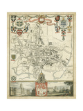 City and University of Oxford Prints