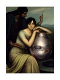 Samaritan Woman 1920 Giclee Print by Julio Romero de Torres