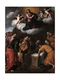 The Assumption of the Virgin Mary, 1631-1635 Giclee Print by Alessandro Turchi