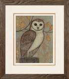 Ornate Owl I Prints by Norman Wyatt Jr.