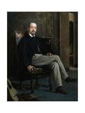 The Painter Benito Soriano Murillo, 1863-1867 Giclee Print by Raimundo De madrazo
