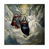 The Coronation of the Virgin, 1592 Giclee Print by El Greco