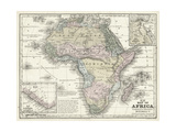 Mitchell's Map of Africa Poster