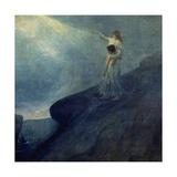 El Genio Y La Inspiracion, 1905 Giclee Print by Julio Romero de Torres
