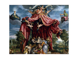 Allegory of the Birth of the Infante Fernando, Son of Felipe II, Ca. 1575 Giclee Print by Michele Parrasio