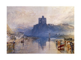 Norham Castle, on the River Tweed, C. 1822-1823 Giclee Print by J. M. W. Turner